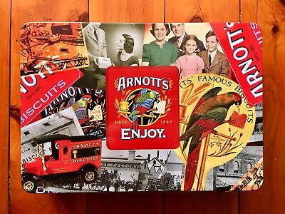 ARNOTT'S Biscuits Collectable Collectible Biscuit Tin - Excellent Condition
