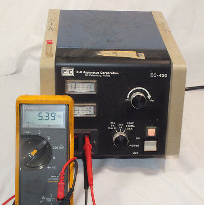 E-C Apparatus Corporation EC-420 Power Supply, #2