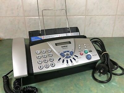 BROTHER FAX-827S Plain Paper Fax/Phone Machine