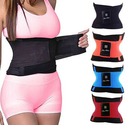 Fajas Reductoras Waist Trainer Trimmer Training Belt Body Shaper Lumbar Supports