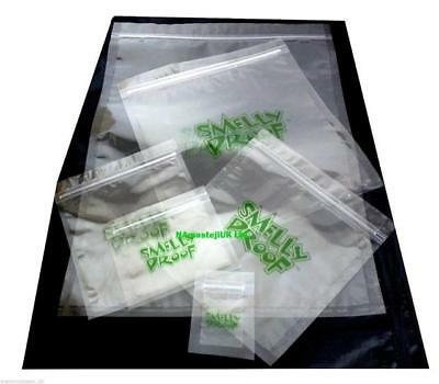 Smelly Proof Baggies Air Tight Pouch Grip Seal Food Bags All Sizes