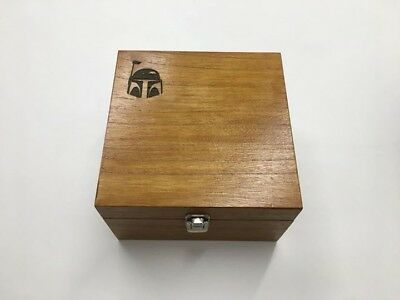 Star wars destiny collection wooden storage box With customised engraving