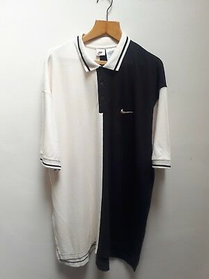 Vintage 90s Nike XL Oversize Fit Tennis Polo Shirt RARE