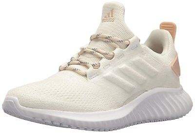 52002d9c890656 ADIDAS WOMEN S ALPHABOUNCE 1 Ash Pearl Chalk Coral Grey One Running ...