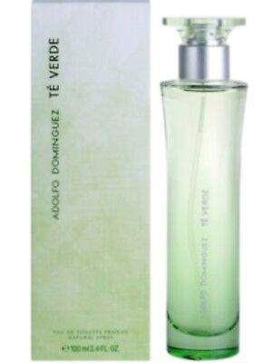 Adolfo Dominguez Te Verde Colonia  Eau Toilette 100 Ml Spray Nuevo