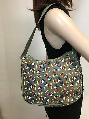 Disney Green Small Purse with Mickey Mouse Design