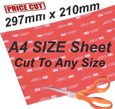Large Double Sided Adhesive Sticky Pads DIY 3M A4 Size Strong Heavy Duty Cheap