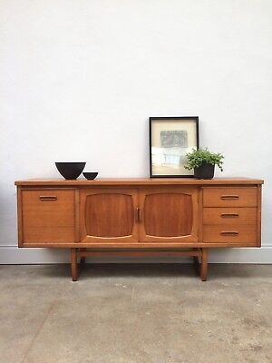 Vintage 60s 70s JENTIQUE Teak Sideboard. Danish Retro G Plan. DELIVERY AVAILABLE
