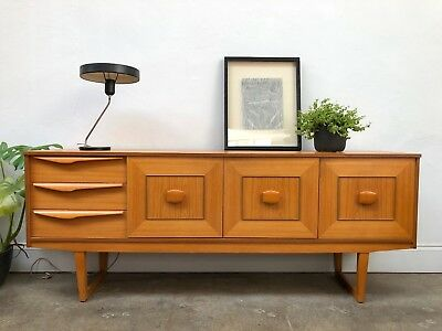 Vintage 60s Stonehill Teak Sideboard. Danish Retro . DELIVERY AVAILABLE