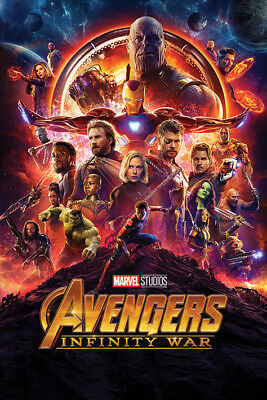 Avengers: Infinity War One Sheet Maxi Poster Print 61x91.5cm | 24x36 inches