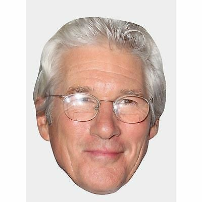 Richard Gere (Glasses) Maske aus Pappe