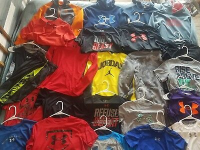 Huge Under Armour-Nike Lot!!! 24 Pieces!!! All Youth Xl