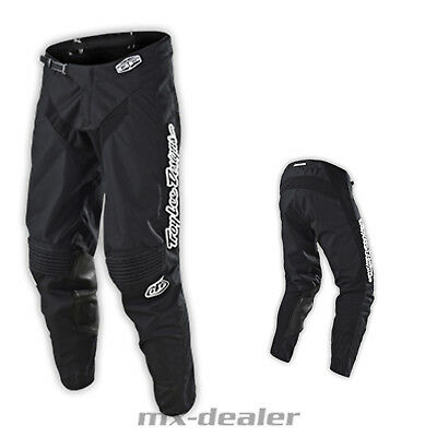 Troy Lee Designs GP Mono Black schwarz motocross Cross Hose Enduro MX Pant