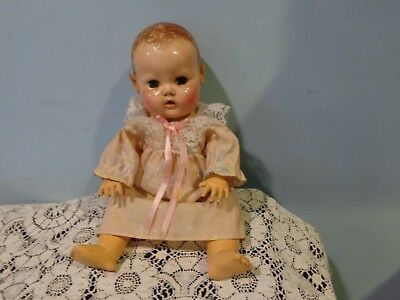 "Effanbee Dy-Dee baby doll approximately 11"" vintage doll"