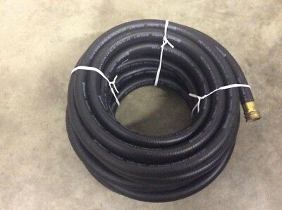 "Continental Sureline Hose Black 3/4"" 150PSI WP Water Air Hydraulic"