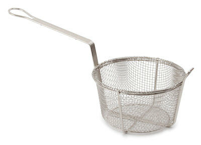 "8.5"" Round Frying Basket for Chinese Restaurant, take away commercial basket"