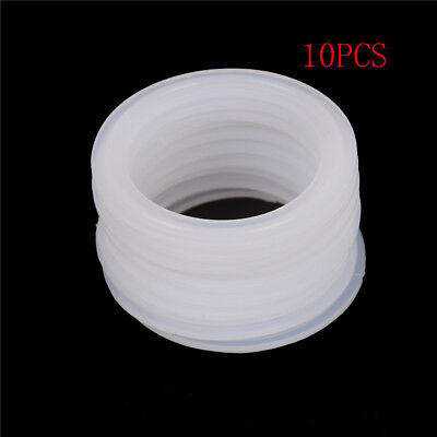 """10Pcs 2"""" Sanitary Tri Clamp Silicon Gasket Fits 64mm OD Type Ferrule Flange RAG"""