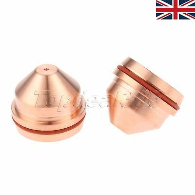 New 2-pk Nozzle 220489 for HSD130 130A Plasma Cutting Consumable Parts UK SELLER