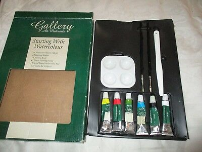Gallery Art Materiels Starting With Watercolours