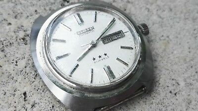 Vintage 1970´s Citizen 71-6332 Automatic Watch Day Date