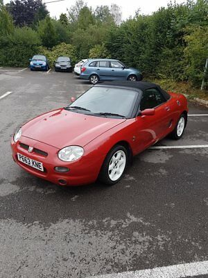 MG MGF 1.8 convertible sports car Red Cheap PX to clear