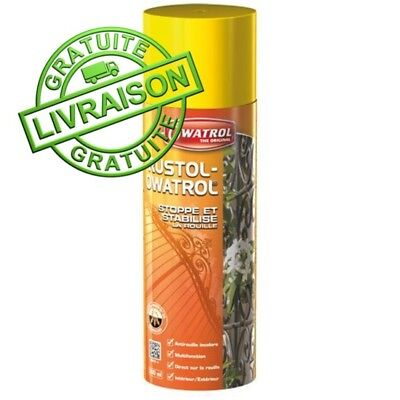 RUSTOL OWATROL spray 300 ml DIRECT ROUILLE INCOLORE STOPPE LA ROUILLE
