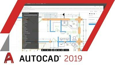 AutoDesk AutoCAD 2019 for Windows 3 years License with Training Videos