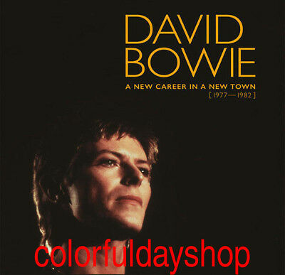 "David Bowie ""A New Career In A New Town ""11 CD Box Set Collection Hot + Gift"