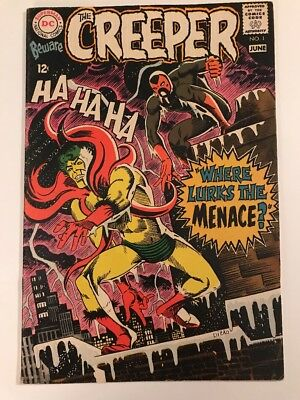 Old D.C. Comic BEWARE THE CREEPER #1 F/VF, Steve Ditko c/a, DC Comics 1968