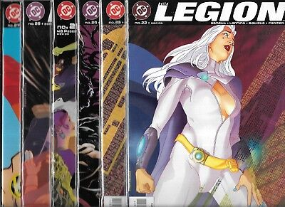 The Legion Of Super-Heroes (2001 Series) Lot Of 6 #22 #23 #24 #25 #26 #27 (Vf/nm
