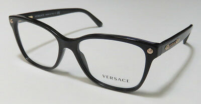 Versace 3190 Classic Cat Eyes Eyeglasses/eyeglass Frame/eyewear Made In Italy