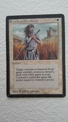 Swords To Plowshares Beta Edition Good Condition
