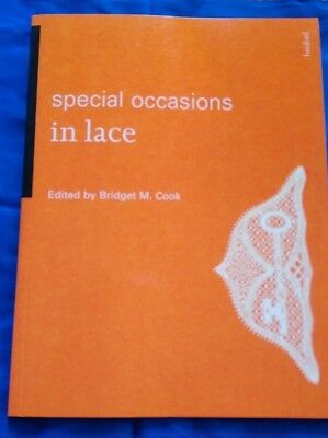 'Special Occasions in lace' by B.M. Cook, softback book