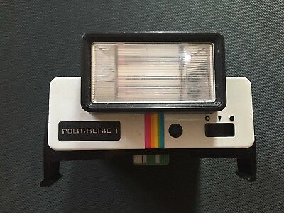 Vintage Polaroid Polatronic 1 Camera Flash - Polaroid 2351 - Untested
