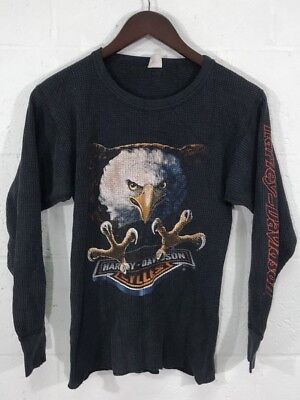 Harley Davidson American Pride Thermo Long Sleeve V-twin Bikers Only Bikerwear