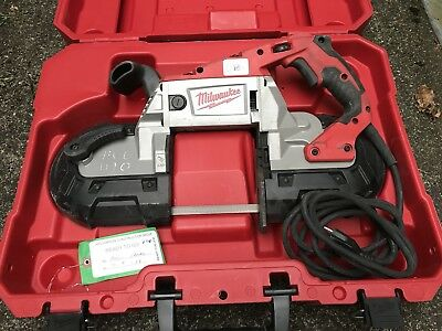 *MILWAUKEE 6232-20 Deep Cut Variable Speed Band Saw in Hard Case - Excellent!