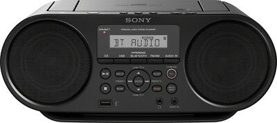 Sony ZSRS60BT CD Boombox with Bluetooth, NFC, and FM Radio - Black