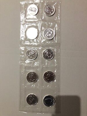 10 X Silver Canadian Maple Leaf Bullion Coin , Mint Sealed In One Pack, 2007