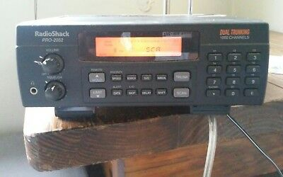radio shack pro 2052 dual trunking 1000 channel ham ems police rh picclick com Radio Shack Pro 2052 Scanner Radio Shack Pro 2052 Scanner