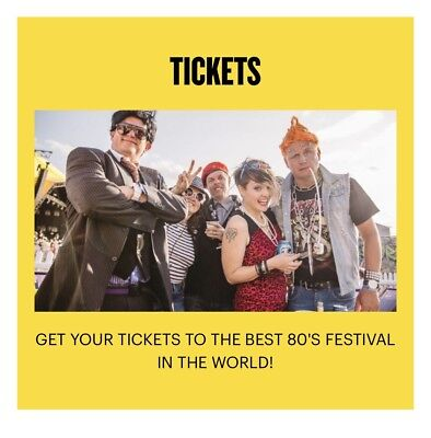 Rewind Festival South 2 X Weekend Camping E Tickets. Tickets Will Be Emailed