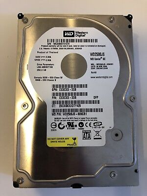 Western Digital 250GB HDD 7200RPM 8MB Cache
