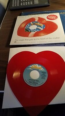 Bobby Caldwell Clouds Heart Shaped Vinyl