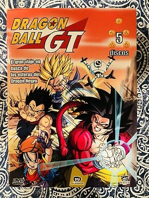 Dragon Ball GT - Complete Series in Spanish (DVD, 5-Disc Set)