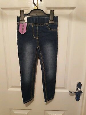 Girls Jeggings Bnwt Age 4 To 5