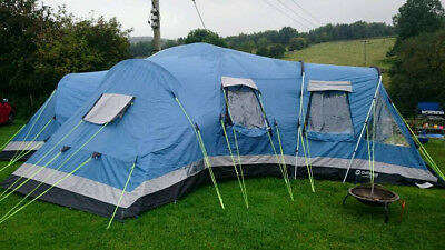 Outwell Georgia XL 8 man tent - blue & OUTWELL GEORGIA XL 8 man tent - blue - £159.00 | PicClick UK