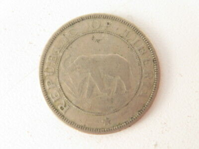 Coin: 1941; Two Cents; Republic of Liberia; NO RETURNS