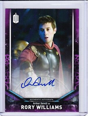Doctor Who Signature Series 2018 DWA-AD Arthur Darvill Purple