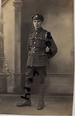 WW1 soldier Army Ordnance Corps in France Le Havre