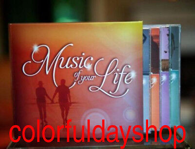 CD Music of Your Life [Box] by Various Artists(CD,Mar-2012,10 Discs,Time/Life)