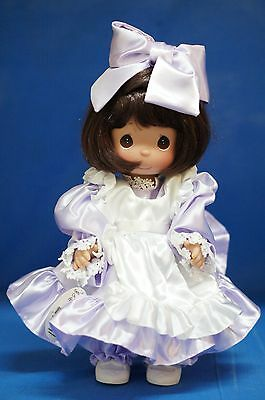 Precious Moments Vinyl Doll Signed 4264 Name Your Own Doll Brunette 2nd Edition